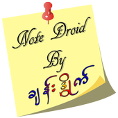 NoteDroid by ခ်န္းဒိြဳက္ icon