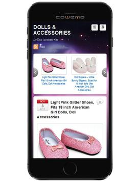Shopping Review Dolls apk screenshot