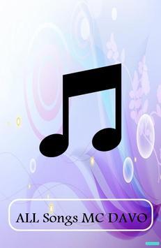ALL Songs MC DAVO poster