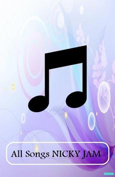 ALL Songs NICKY JAM poster