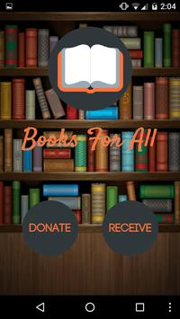 Books For All poster
