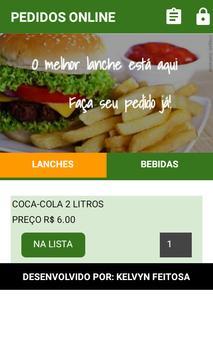Pedidos Online apk screenshot
