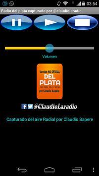 Radio del plata AM1030 @Claudiolaradio poster