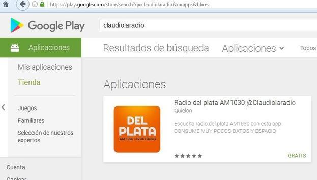 Radio del plata AM1030 @Claudiolaradio screenshot 2