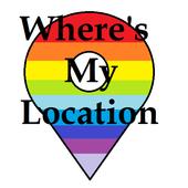 Where's My Location icon