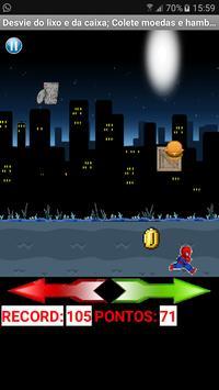 Spider Running poster
