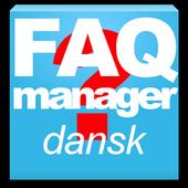 FAQ Manager Dansk icon