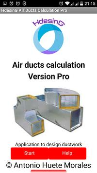 Calculation of Air Ducts poster