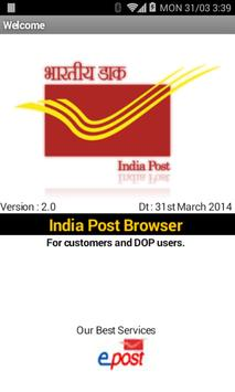 IndiaPost poster