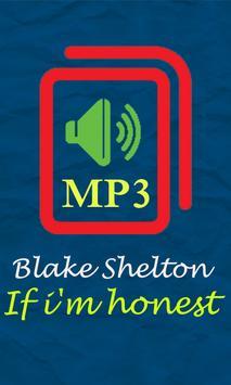 if i'm honest by Blake Shelton poster