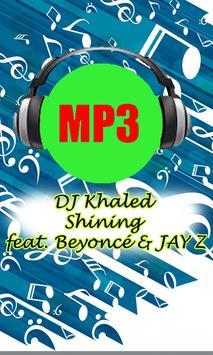 DJ Khaled - Shining poster