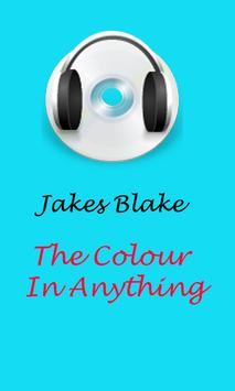 James Blake songs poster
