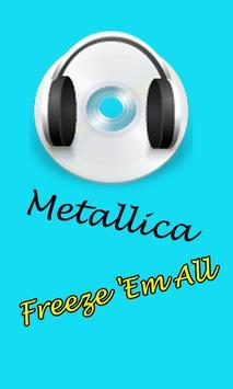 Metallica Songs poster