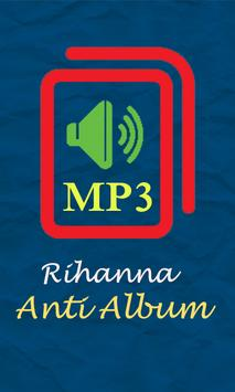 Rihanna - Anti Album poster