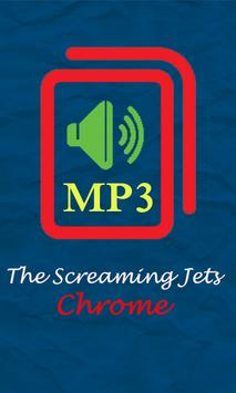 The Screaming Jets - Chrome poster