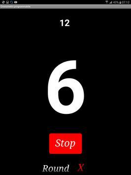 Cronometro programmabile apk screenshot