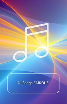 All Songs FAIROUZ poster