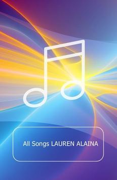All Songs LAUREN ALAINA poster