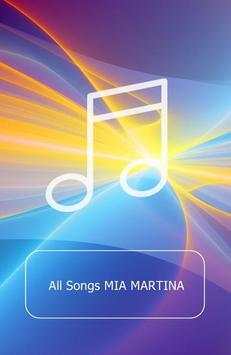All Songs MIA MARTINA poster