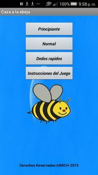 Caza la abeja poster