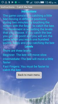 Catch the bee (free) screenshot 1
