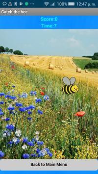 Catch the bee (free) screenshot 2