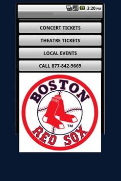 Boston Red Sox Tickets poster