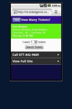 Brad Paisly Tickets screenshot 4