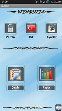 Cetele Programı - (Çetele) apk screenshot