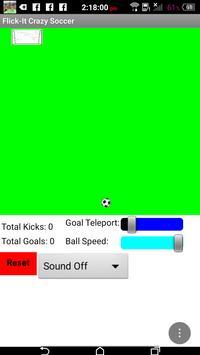 Flick Space Soccer screenshot 3