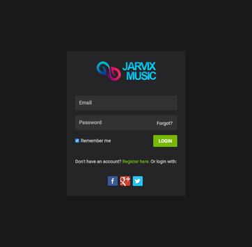 JARVIX MUSIC screenshot 4