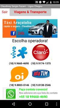 Taxi Araçatuba poster