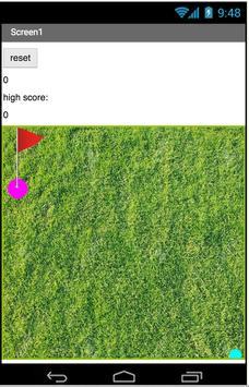 Golf score apk screenshot