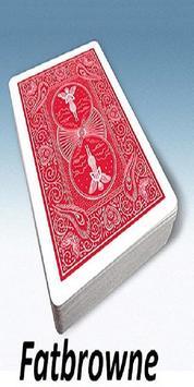 Fatbrowne Card Simulation poster