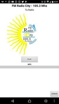 FM Radio City poster