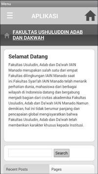 Fakultas Ushuluddin Adab dan Dakwah apk screenshot