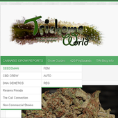 Trichome World Weed icon