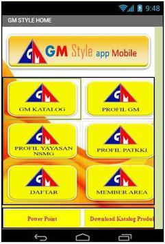 GM STYLE App Mobile screenshot 1