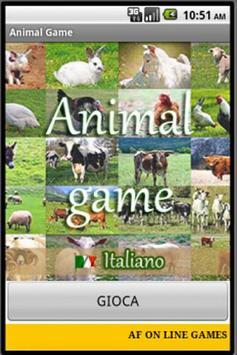 Animal Game IT Free poster