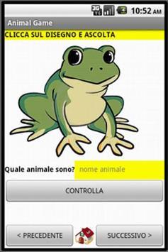 Animal Game IT Free apk screenshot