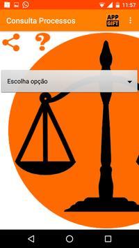 Consulta Processos apk screenshot