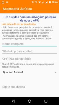 Consulta Processos apk screenshot