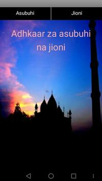 Adhkar za asubuhi na jioni poster