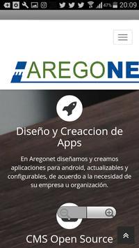 Aregonet screenshot 2