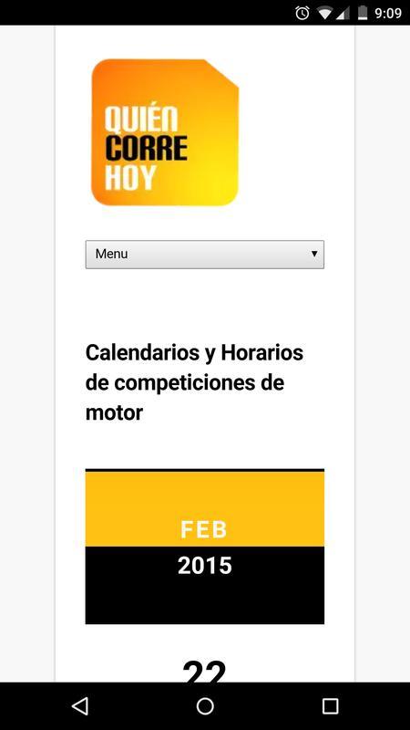 Quién Corre Hoy APK Download - Free Sports APP for Android   APKPure.com