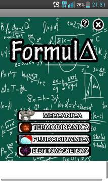 Formula poster