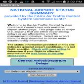 National Airport Status USA icon