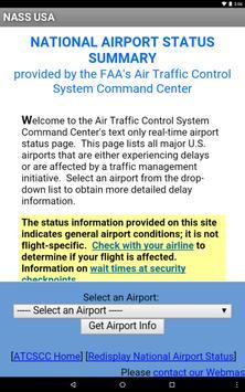 National Airport Status USA screenshot 1