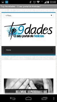 Top Novidades poster