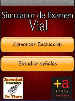 SEV - Simulador de Examen Vial poster